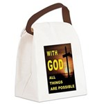 GOD IS GREAT Canvas Lunch Bag