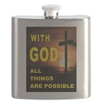 GOD IS GREAT Flask