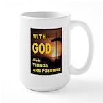 GOD IS GREAT Mugs