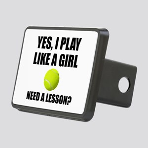 Like A Girl Tennis Hitch Cover