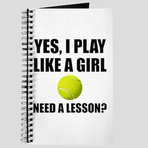 Like A Girl Tennis Journal