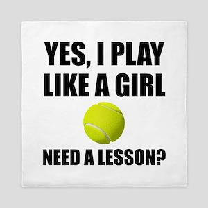 Like A Girl Tennis Queen Duvet