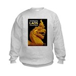 Laos Vintage Travel Print Jumpers