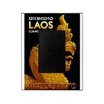 Laos Vintage Travel Print Picture Frame