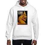 Laos Vintage Travel Print Hoodie Sweatshirt