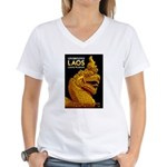 Laos Vintage Travel Print T-Shirt