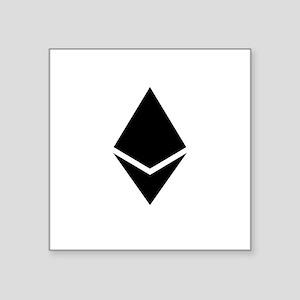 Ethereum Black Sticker