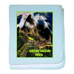 Machu Picchu Vintage Travel Advertising Print baby
