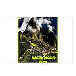 Machu Picchu Vintage Travel Advertising Print Post