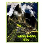 Machu Picchu Vintage Travel Advertising Print Smal
