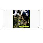Machu Picchu Vintage Travel Advertising Print Bann