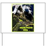 Machu Picchu Vintage Travel Advertising Print Yard