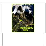 Machu Picchu Vintage Travel Advertising Print Yard