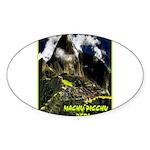 Machu Picchu Vintage Travel Advertising Print Stic