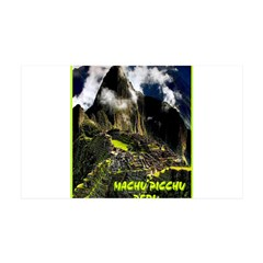 Machu Picchu Vintage Travel Advertising Print Deca