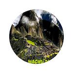 Machu Picchu Vintage Travel Advertising Print Butt