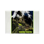 Machu Picchu Vintage Travel Advertising Print Magn