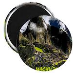 Machu Picchu Vintage Travel Advertising Print Magn