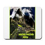 Machu Picchu Vintage Travel Advertising Print Mous