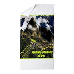 Machu Picchu Vintage Travel Advertising Print Beac