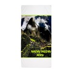 Machu Picchu Vintage Travel Advertising Print Beac