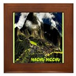 Machu Picchu Vintage Travel Advertising Print Fram