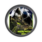 Machu Picchu Vintage Travel Advertising Print Wall