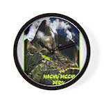 Machu Picchu Vintage Travel Advertising Print Wall