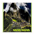 Machu Picchu Vintage Travel Advertising Print Tile