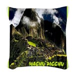 Machu Picchu Vintage Travel Advertising Print Wove