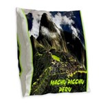 Machu Picchu Vintage Travel Advertising Print Burl