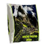 Machu Picchu Vintage Travel Advertising Print Burl
