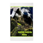 Machu Picchu Vintage Travel Advertising Print Area