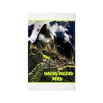 Machu Picchu Vintage Travel Advertising Print Area