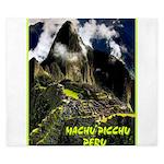 Machu Picchu Vintage Travel Advertising Print King