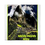 Machu Picchu Vintage Travel Advertising Print Quee