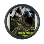 Machu Picchu Vintage Travel Advertising Print Larg