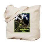 Machu Picchu Vintage Travel Advertising Print Tote