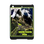 Machu Picchu Vintage Travel Advertising Print iPad
