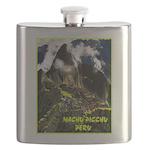 Machu Picchu Vintage Travel Advertising Print Flas