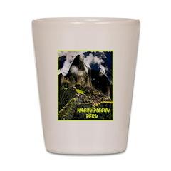 Machu Picchu Vintage Travel Advertising Print Shot