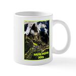 Machu Picchu Vintage Travel Advertising Print Mugs