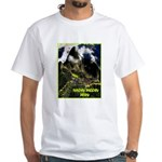 Machu Picchu Vintage Travel Advertising Print T-Sh