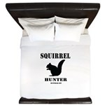 Squirrel Hunter King Duvet