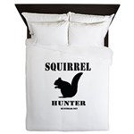 Squirrel Hunter Queen Duvet