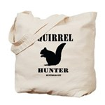 Squirrel Hunter Tote Bag