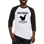 Squirrel Hunter Baseball Jersey