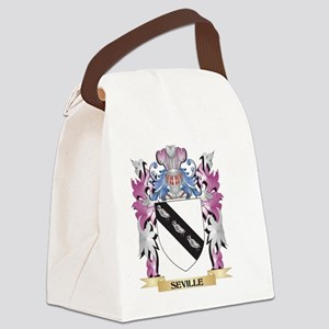 Seville Coat of Arms - Family Cre Canvas Lunch Bag