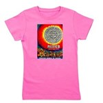 Mexico Vintage Travel Advertising Print Girl's Tee