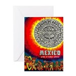 Mexico Vintage Travel Advertising Print Greeting C